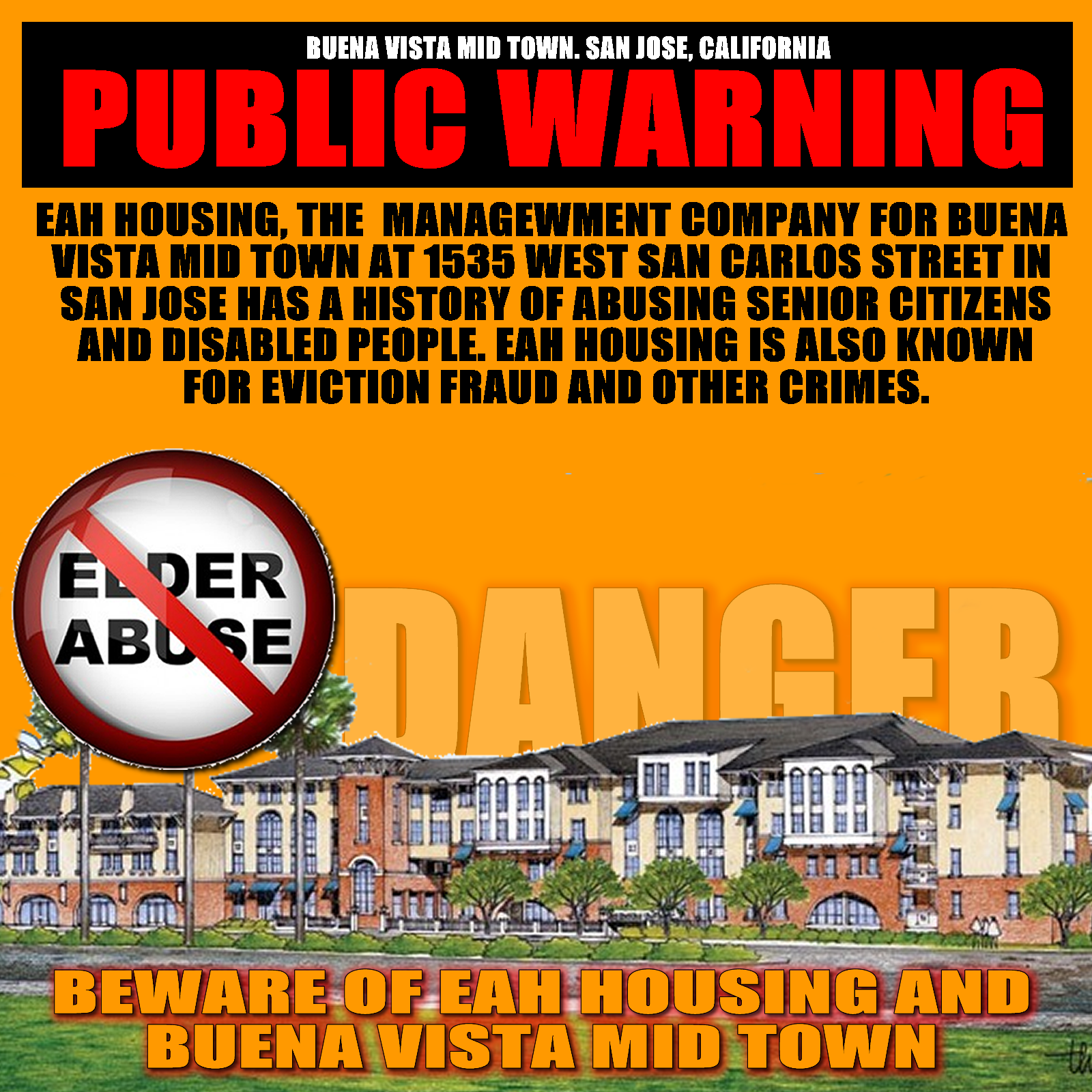 Citizens Must Be Warned About Buena Vista Midtown And The Dangers Of EAH  Housing   Elder